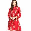 Ladies Cotton Designer Kurti, Size: S-xxl