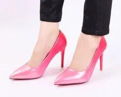 Partywear Pink Ombre High Heels Ladies Bellies