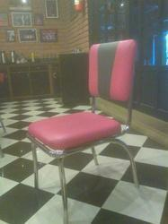 Fibre with stainless steel Armless Stainless Steel Chair