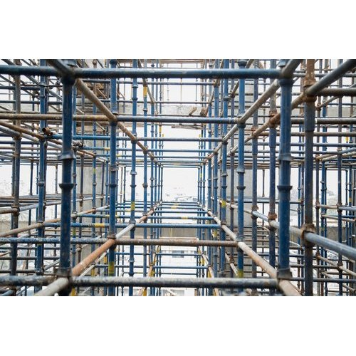 Wood Rolling Construction Scaffolding Rental Service for Residential, Rs  145 /cubic meter | ID: 20721311288