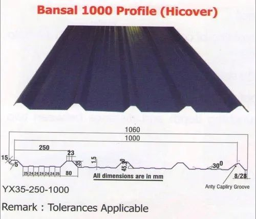 JSW METAL ROOFING SHEETS