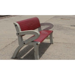 Concrete Benches With Arm