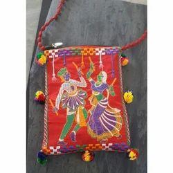 Embroidered Ladies Handicraft Handbag