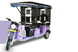 Udaan 4 Seater Electric Rickshaw