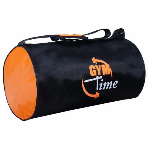 Black And Orange Printed Gym Bags 2942cecef6aff
