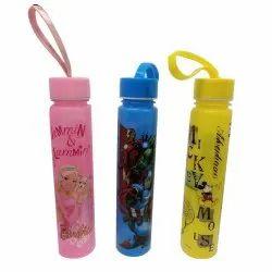 Plastic Screw Cap Slim Water Bottle, Capacity: 300 Ml