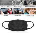 Pollution/ Dust/ Flu Face Mask Unisex Black