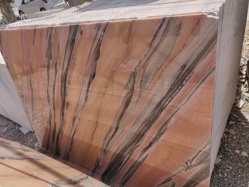 Polished Finish Indian Pink Marble, Slab, Thickness: 15-20 mm, Rs 22  /square feet | ID: 21741074933