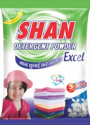Shan Lemon 170 Gm Detergent Powder, 100 Gm, Packaging Type: Packet