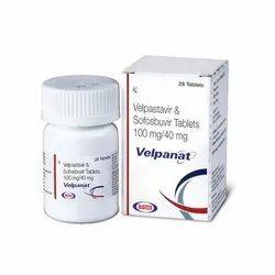 Velpanat Velpatasvir & Sofosbuvir Tablets