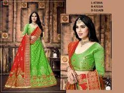 Ladies Banarasi Silk Lehenga Choli