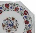 Stone Inlay Pietra Dura Table Top