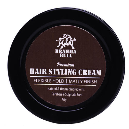 Brahma Bull Hair Styling Cream And Brahma Bull Hair