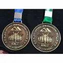 Brass Mini Marathon Medal