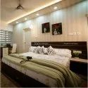 Fogalom Desings Mahogany Wood Wooden Double Bed, For Bedroom