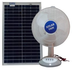 Plastic Solar Table Fan