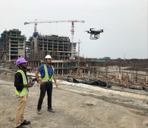 Aerial Inspection / Drone Inspection in Pudupakkam, Chennai, Dronix