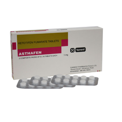 Ketotifen 1mg Tablet