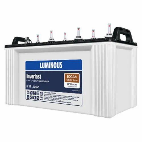 Luminous ILST 12042 100AH Tubular Battery