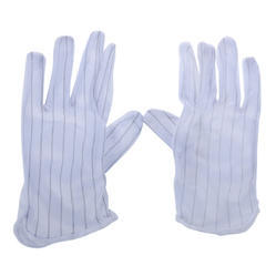 Lint Free Polyester ESD Glove