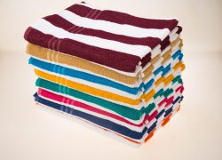 Cotton Cabana Terry Towel, Weight: 400-450 g