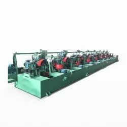 S.S. Round Bar Buffing Machine