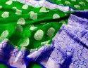 Banarasi Handloom Pure Georgette Silk Sarees