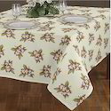 Flower Design Table Cloth