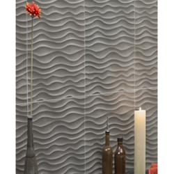 Wavy CNC Stone Wall Cladding