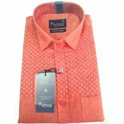 L Ramaas Men's Collar Shirt