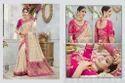 Banarasi Silk Embroidered Wedding Wear Saree