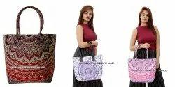 Divine New Large Mandala Women's Shoulder Bag