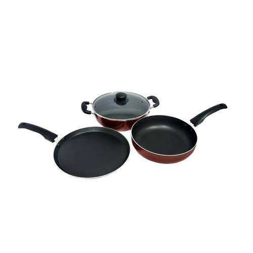 Aluminium Induction Base Non Stick Coockware Set