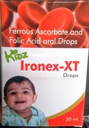 Ferrous Ascorbate And Folic Acid Oral Drops
