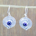 925 Sterling Silver Jewelry Amethyst Gemstone Handmade Earring