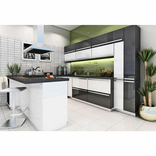 Best Modular Kitchen Design: Stainless Steel Residential Godrej Modular Kitchens, India
