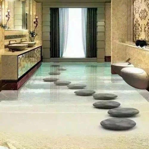 Bathroom 48488D Tile Size 488x48 Feet Rs 48 Square Feet M S Simple 3D Bathroom Designs