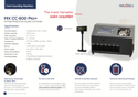Multi Pocket Coin Counter Cum Sorter CC600 Pro