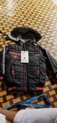 Fuu Sleev Hooded Kids Fancy Jacket, Full Sleeves