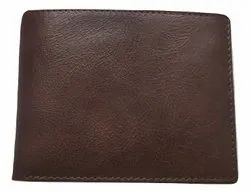 Mon Exports Male Genuine Leather Tri Fold Wallet