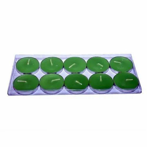 Paras Green Tea Light Candle
