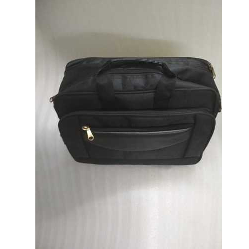 04ba4cd68 Black Polyester Men Office Bag, Rs 490 /piece, H. M. Bag Works | ID ...
