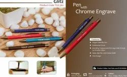 Pen with Chrome Engrave