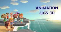 Digital 2D Animation Services