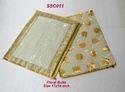 Single Saree Cover Floral Butta
