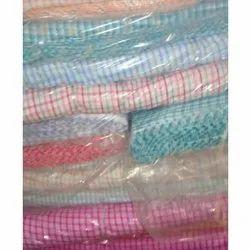 Check Synthetic Shirting Fabric