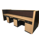 Particle Board Rectangular Modular Office Furniture