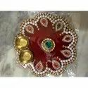 Decorative Rakhi Puja Thali
