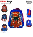 Captain America Printed School Bags