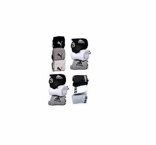 Nike Logo Sports Ankle Length Socks